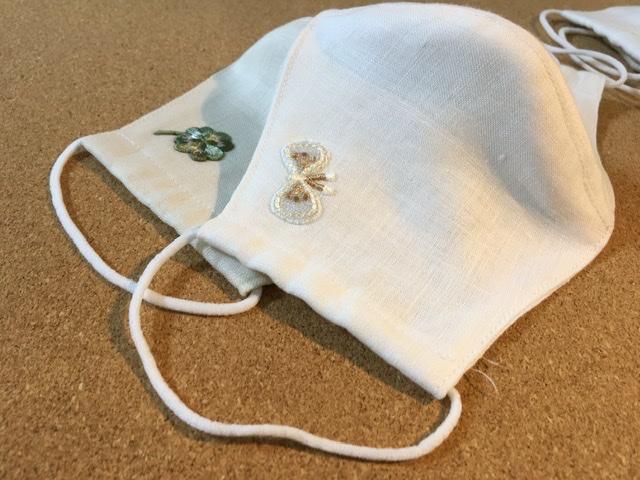 息がしやすいリネンの立体型マスク作り ~テクノロートを利用~